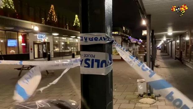 Explosion vid butik – misstänkt utpressning