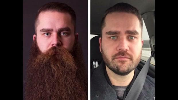 Före och efter skägg – 7 otroliga förvandlingar