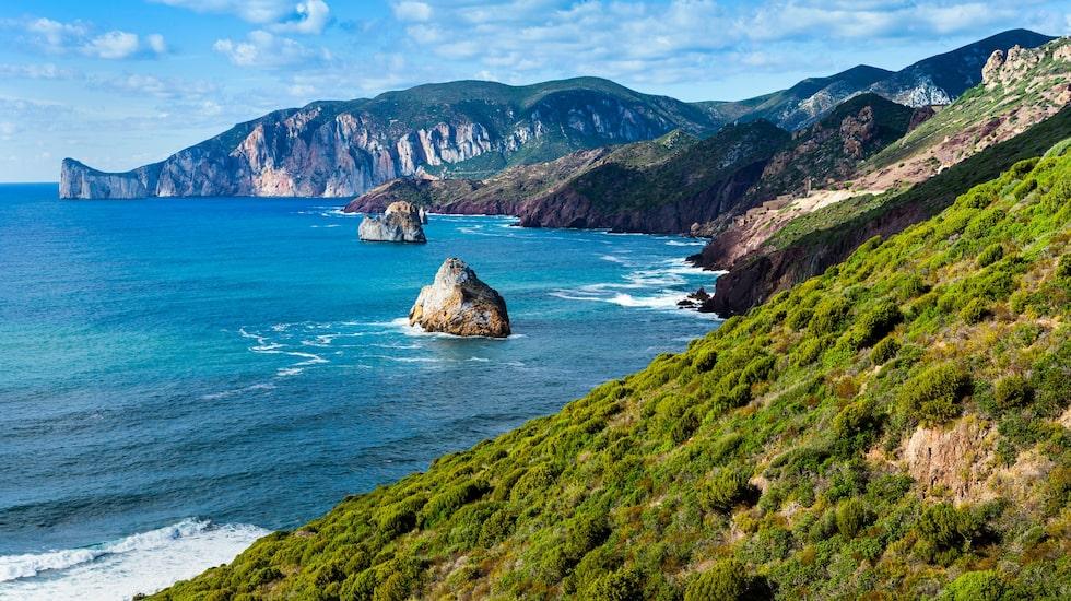 Costa Verde bjuder på vackra vyer.