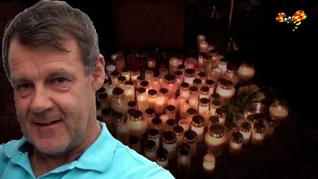 Man anhållen för mordet på Kjäll Gustafsson