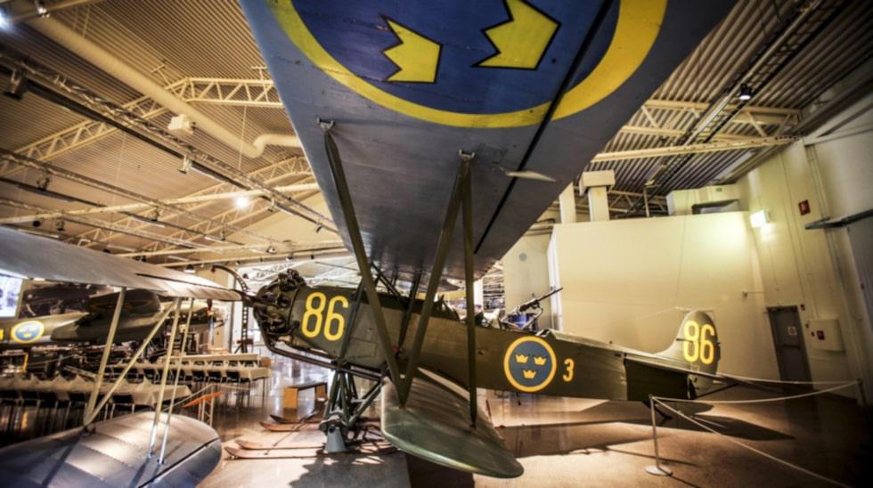 Museet berättar det svenska militärflygets historia – från 1910-talet till i dag.
