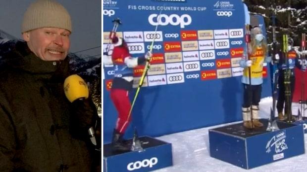 """Skidsnack: Rivalens firande överraskar: """"Ebba blev helt ställd"""""""