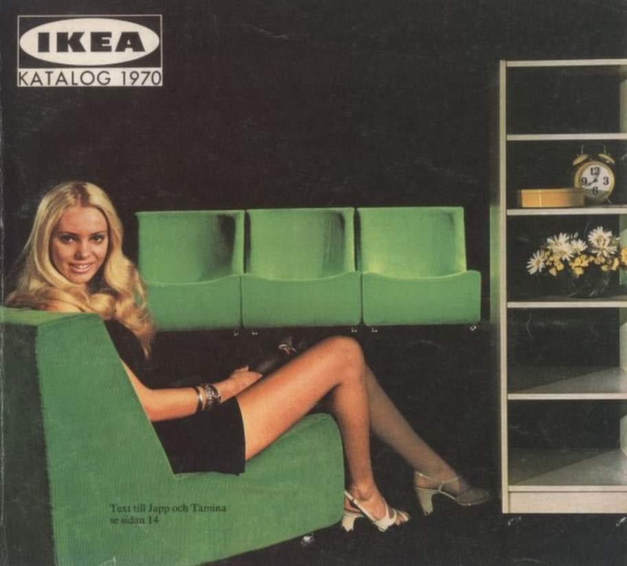 1970. På 70-talet gällde lite murrigare färger.