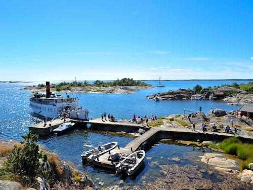 Tusen öars kryssning är ett perfekt sätt att uppleva skärgården.