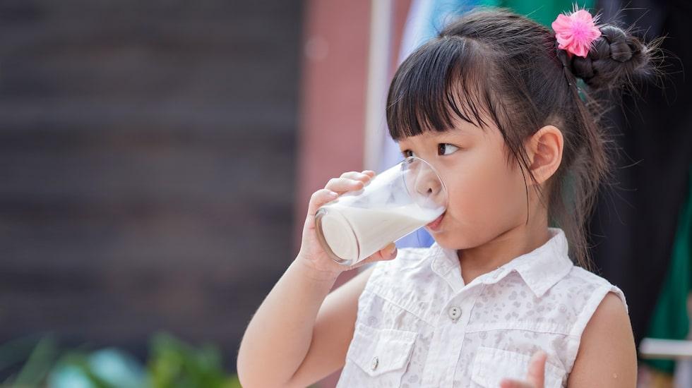 Hur viktigt är det för barn att dricka mjölk?