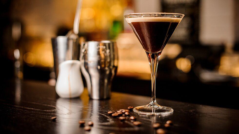 Espresso Martini är en riktig höjdare efter en god middag.
