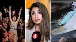NYHETSDAGEN: Båt kraschade utanför Lidingö – två till sjukhus • Ny regering framröstad i Israel • V går vidare med hotet mot Löfven – kan agera nästa vecka