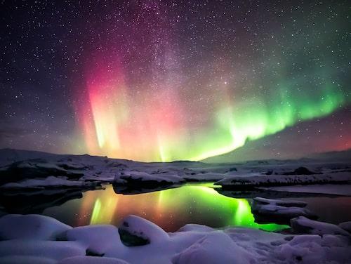 Island är en av världens bästa destinationer för att spana efter norrsken.