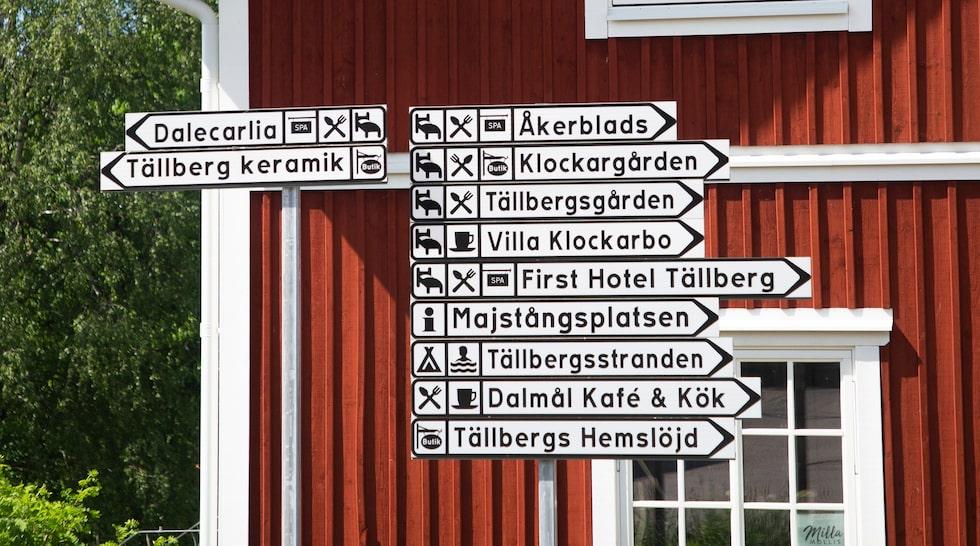 Tällberg i Dalarna sägs vara Sveriges hotelltätaste by, med inte mindre än åtta resorter. Bland annat.