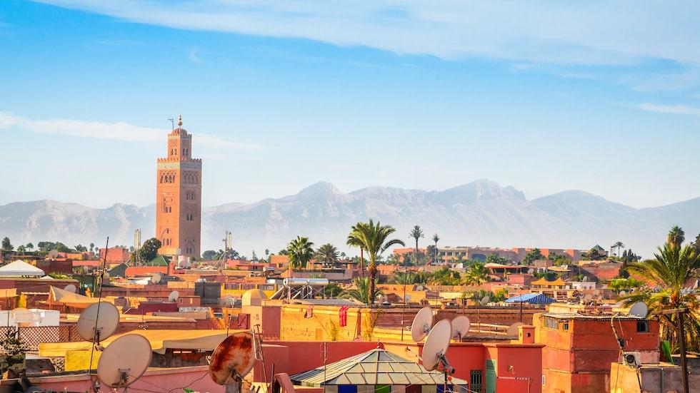 Kaotiska, mytomspunna Marrakech.