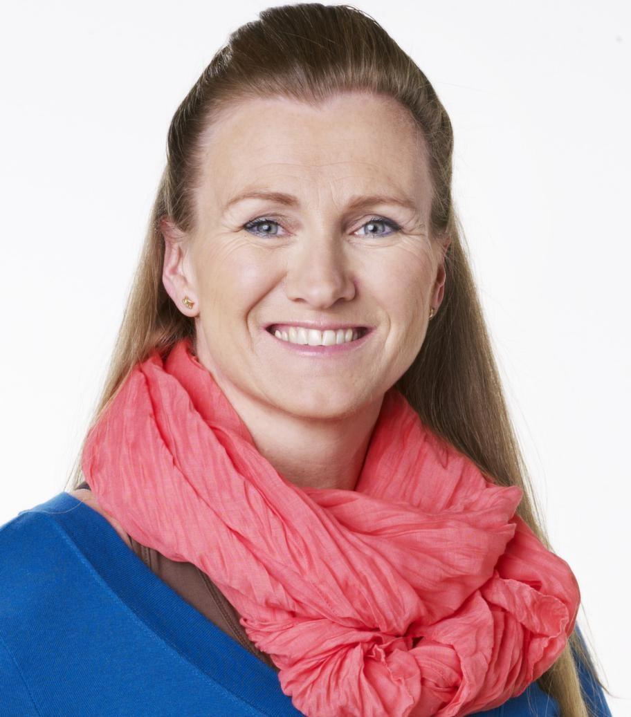 Anna Hallén, kostrådgivare och kokboksförfattare.