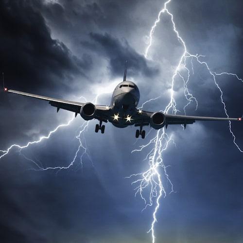 Turbulens är inget farligt.