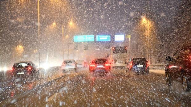"""Snöoväder drar fram: """"Kan komma en halvmeter snö"""""""