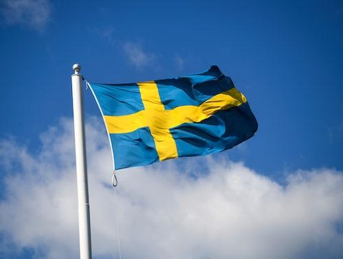 1916 instiftades svenska flaggans dag.