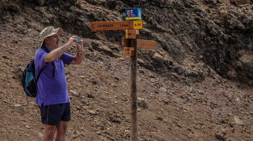 Gran Canaria har ett mycket omfattande nät av välskyltade vandringsleder.
