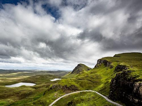 North Coast 500 går genom det skotska höglandet.