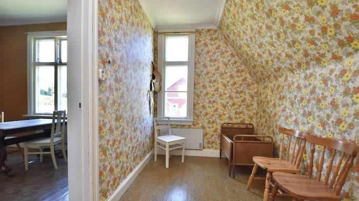 Gulligt litet rum intill köket.