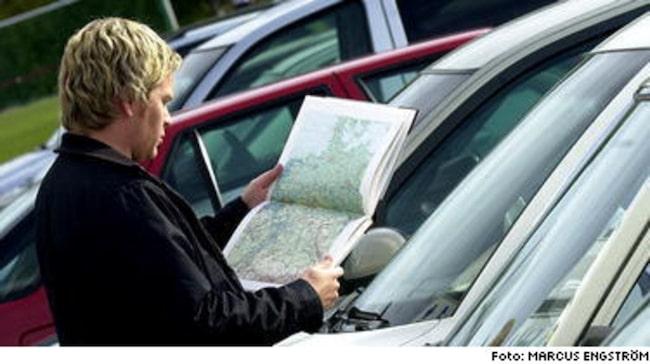 MYCKET AV JOBBET med att importera bil gör du hemma. Leta efter rätt objekt till rätt pris - och plocka sen fram kartan.