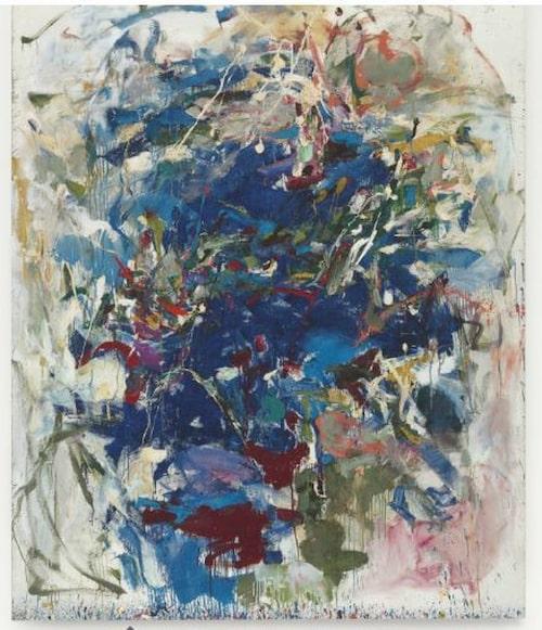 """Joan Mitchells """"Untitled""""."""