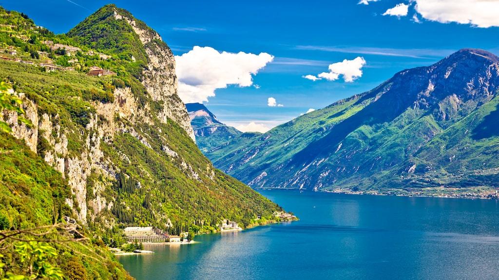 Platsen är väldigt lik Italiens största insjö Gardasjön.