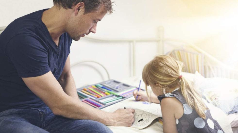 Kanske haka på barnen nästa gång? Annars finns speciella målarböcker för vuxna.