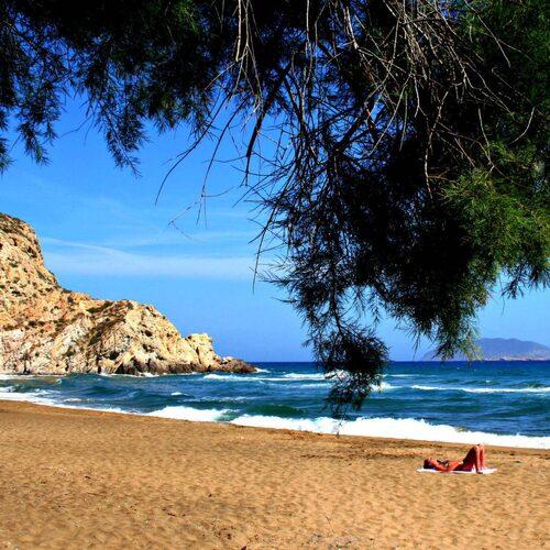 Anafi är en glest bebodd ö