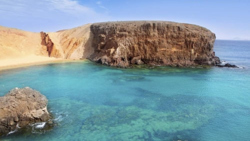 Träna på resan på Lanzarote.