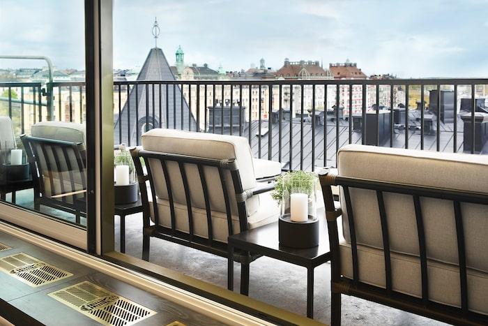 Le Hibou på Bank Hotel är ny för säsongen.