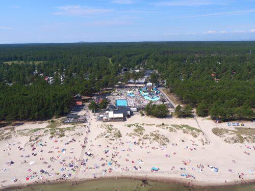Böda Sand ligger vid Sveriges längsta strand.