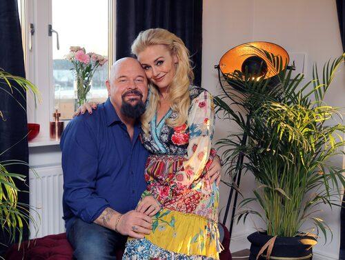 Anders och Johanna gifte sig i mitten av 2018.