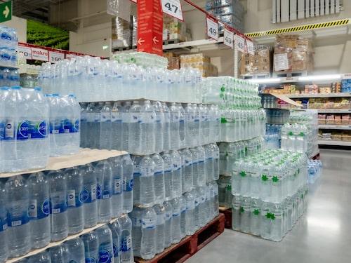Rent vatten på flaska är ett måste i Thailand.