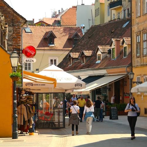 Trots att Zagreb Kroatiens största stad bor det inte mer än 790 000 människor här.