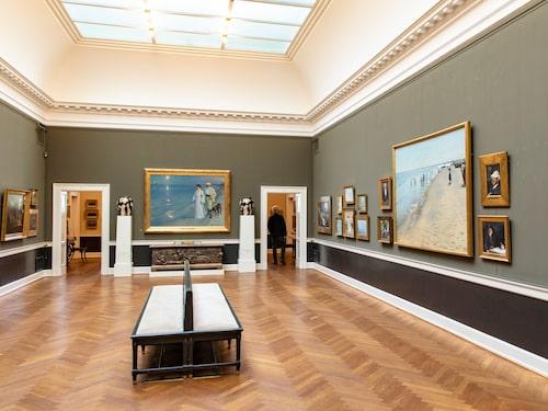 Den Hirschsprungske Samling är ett litet museum som gömmer en stor konstskatt.