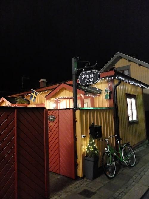 Lilla Hotellet i Nora lånar ut cyklar.