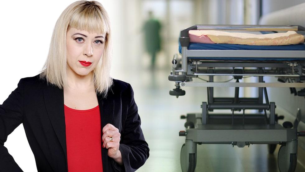 """ANNA BÄSÉN: """"Krisen på akuten är bara toppen av ett isberg""""."""