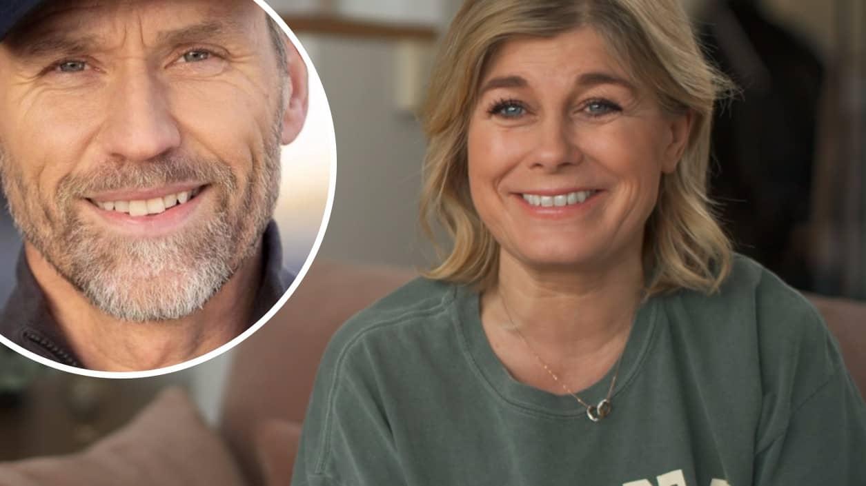 """Pernilla Wahlgren visar bild på håravfallet: """"Hjälp mig"""""""