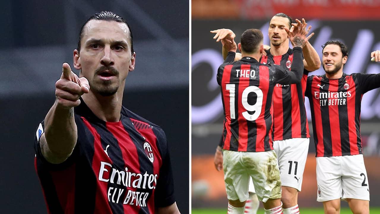 Bilderna på Zlatan som uppmärksammas i Italien