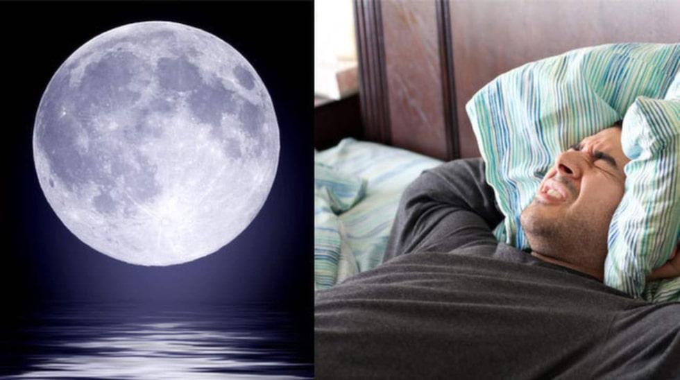 Vissa påverkas mycket och andra ingenting av att det är fullmåne.