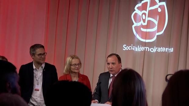 """Stefan Löfvens tal från valnatten: """"Socialdemokrater har aldrig tvekat"""""""