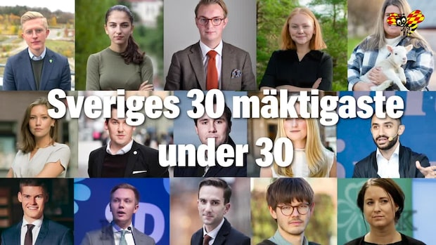 Han är mäktigast under 30 i svensk politik