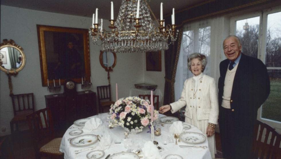 Prins Bertil och prinsessan Lilian flyttade in i villan 1946.