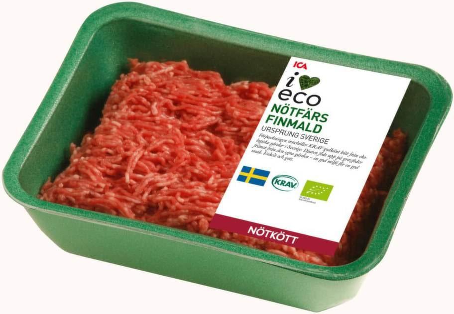 2 KÖTT.Att äta mindre kött bidrar till bättre  miljö. Om  du ändå ska äta kött, välj ekologiskt, då bidrar du till samma   miljöfördelar som när du köper ekologiska mejerivaror.