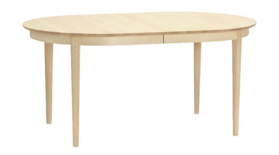 VardagsbordDuka på ett klassiskt svenskt bord, Vardagsbord av Carl Malmsten, vitoljad björk, 60 x 100 centimeter, 13 050 kronor, svenssons.se