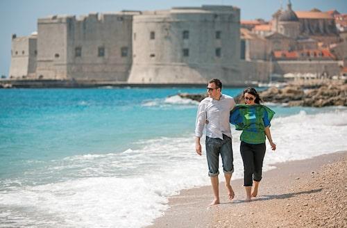 Hamnstaden Dubrovnik finns med på Unescos världsarvslista.