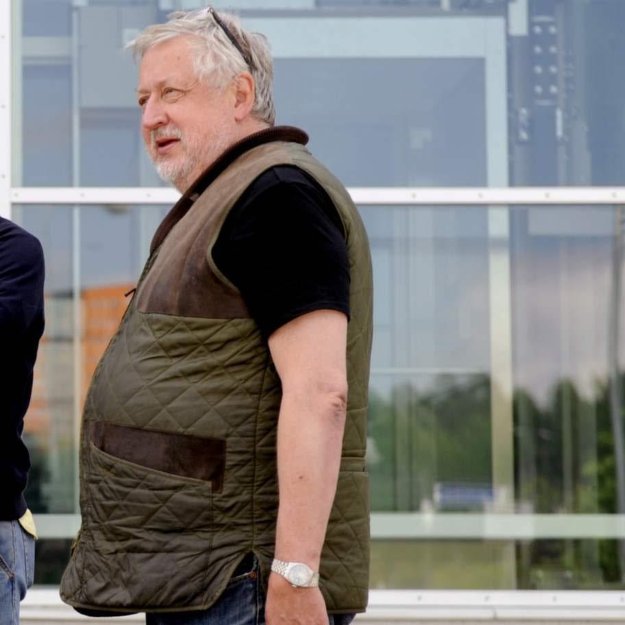 Leif GW Persson som han såg ut innan viktnedgången.