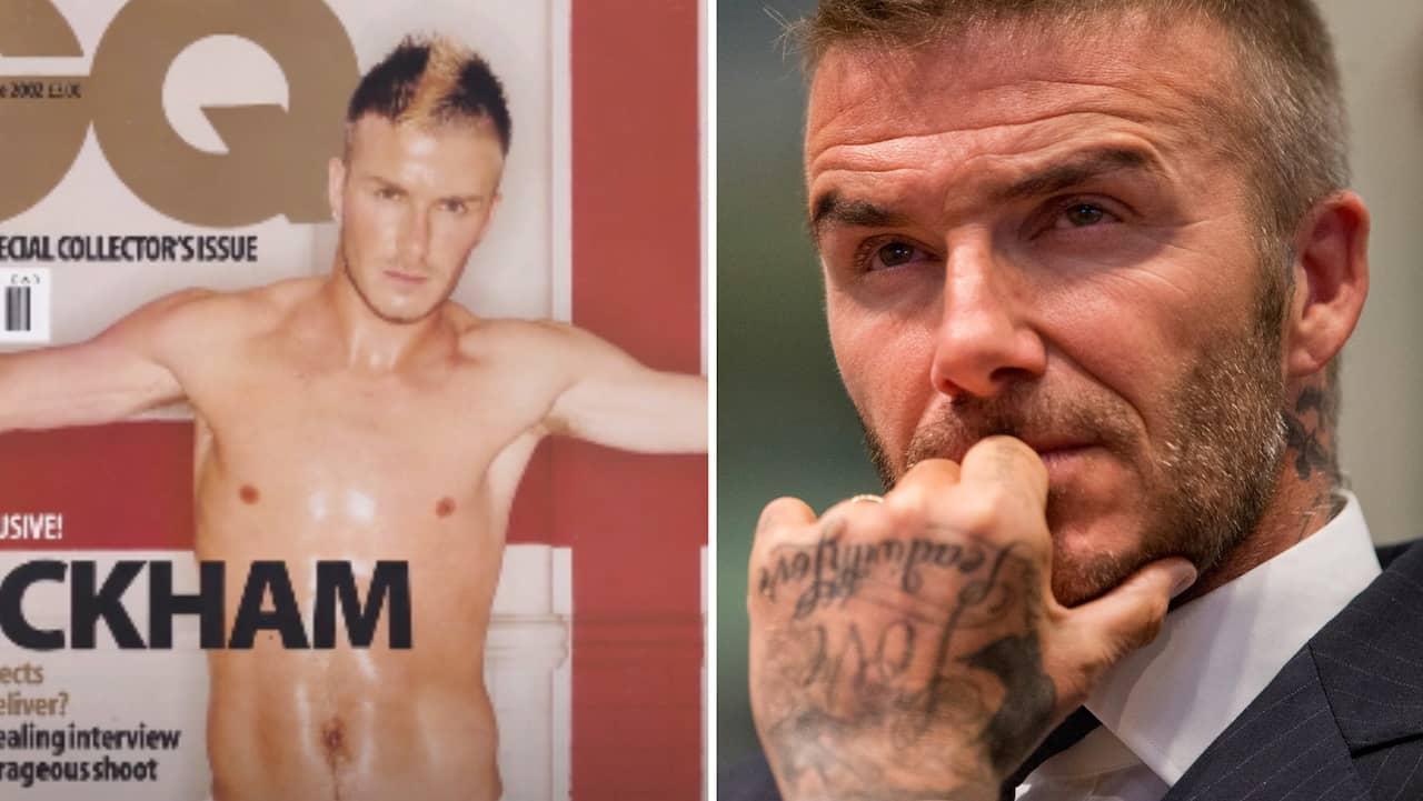 Beckham ångrar avklädda bilderna