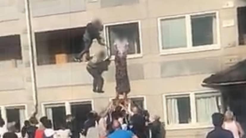 JUST NU: Brand rasar i lägenhetshus i Göteborg