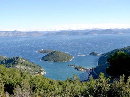 Mljet är Kroatiens första nationalpark