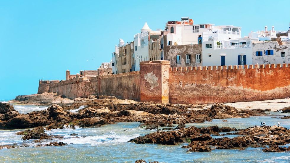Rofyllda och bohemiska strandpärlan Essaouira.