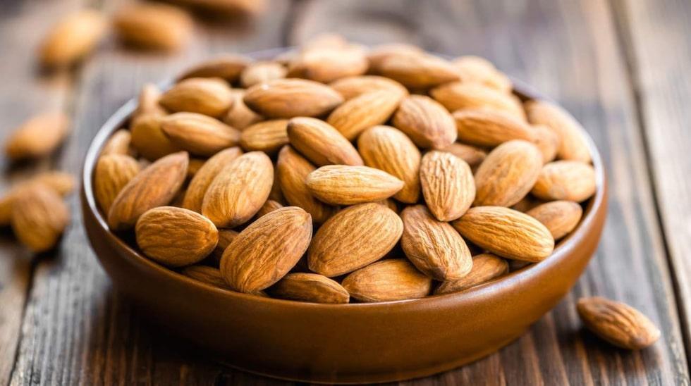 Var försiktig med nötter. Ät bara lite av det.